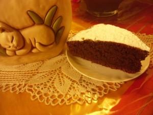 torta al cioccolato ricicla-albumi