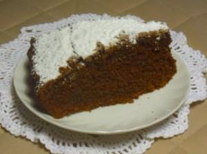torta al cacao alla moda di celeste