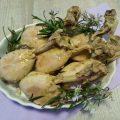 Fusi di pollo agli agrumi e rosmarino zenit