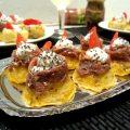 Polenta finger food con zucca e alici - orizzontale