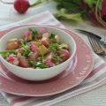 Orzo salad con tofu e ravanelli glassati - orizzontale