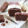 Plum cake vegano cocco e cioccolato orizzontale