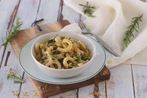 Pasta fredda al pesto di nocciole e rosmarino