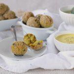 Polpettine veg di quinoa zucca e zucchine
