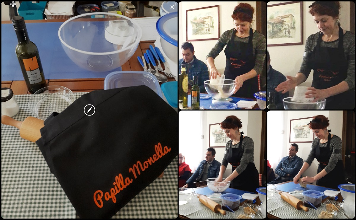 Grani antichi e sfizi moderni - show cooking impastare