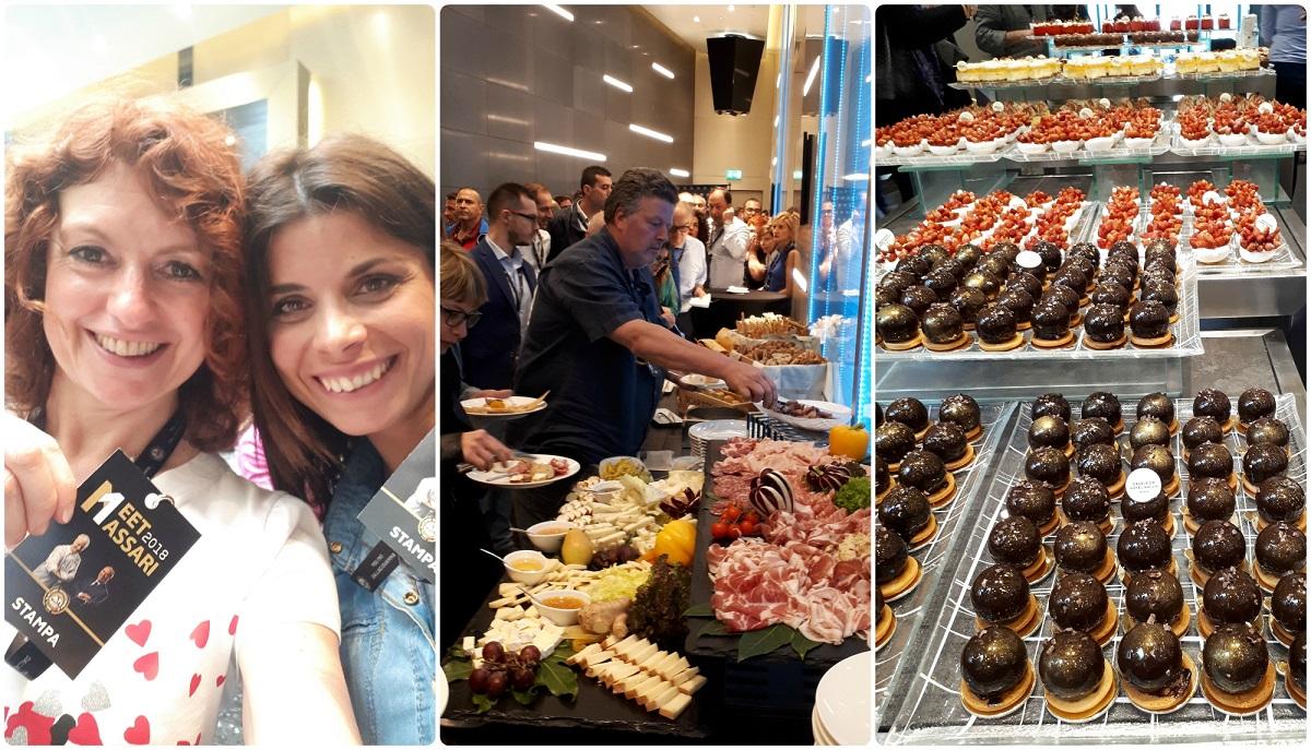 Meet Massari Milano buffet