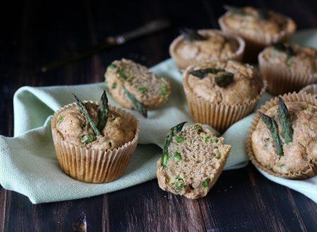 Muffin leggeri e integrali agli asparagi  #AsparagoPiacentino #AsparagoChePiace