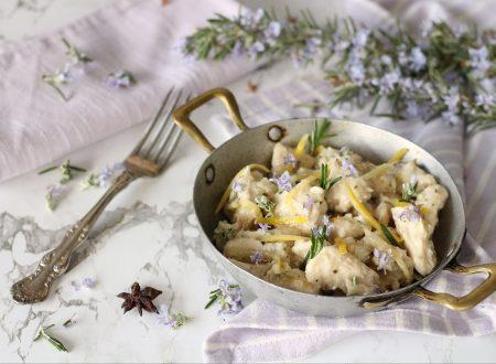 Pollo al miele limone e zenzero con anice stellato