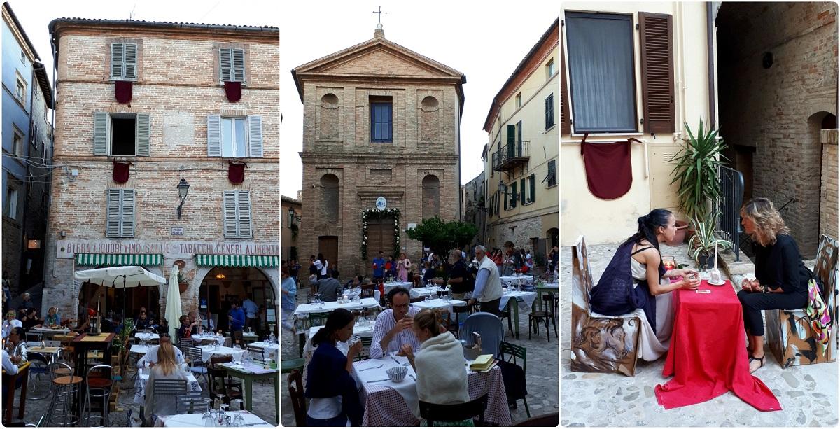Blogtour nel Piceno a Grottammare Alta Notte Romantica
