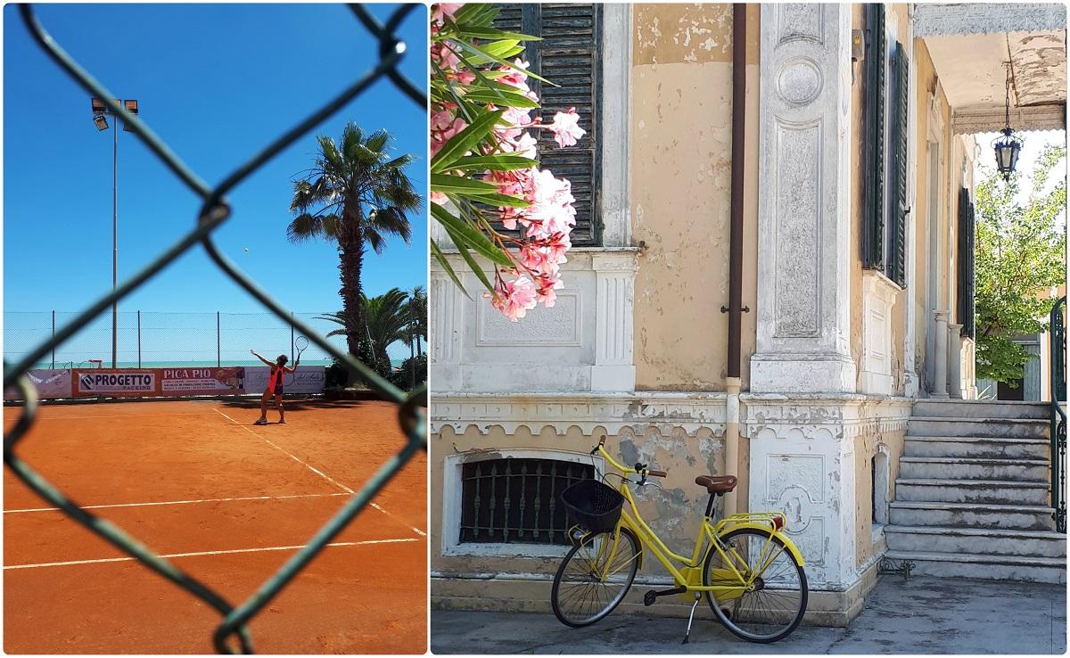Blogtour nel Piceno a Grottammare lungomare