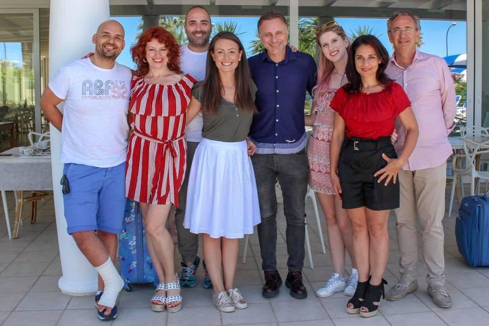 Blogtour nel Piceno a Grottammare e Cuora Marittima team
