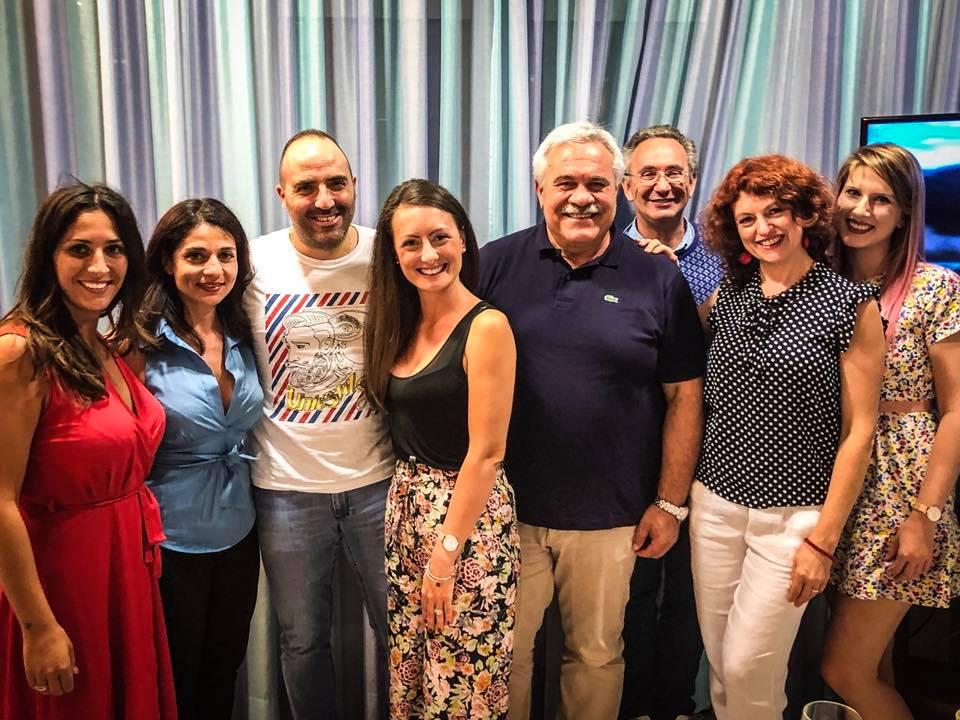 Blogtour nel Piceno a Grottammare e Cupra Marittima RISTORANTE EUROPA sindaco