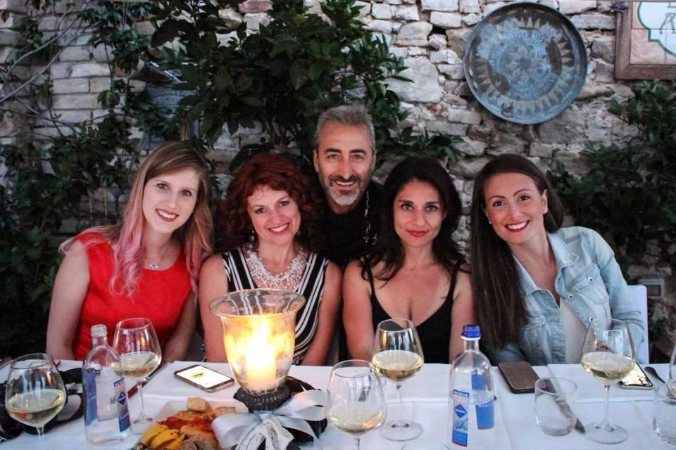 Blogtour nel Piceno a Grottammare Alta Notte Romantica Chef Langiotti
