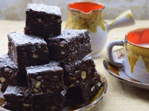 Brownies al Cacao e Nocciole