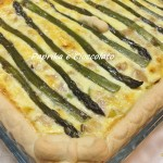 Torta salata di Asparagi