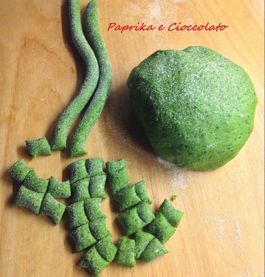 gnocchetti semola e spinaci