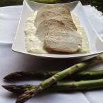 Arrosto di Tacchino in salsa di Asparagi