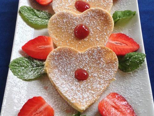 Pancakes Romantici