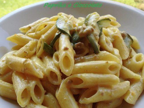 Penne Salsiccia e Zucchine