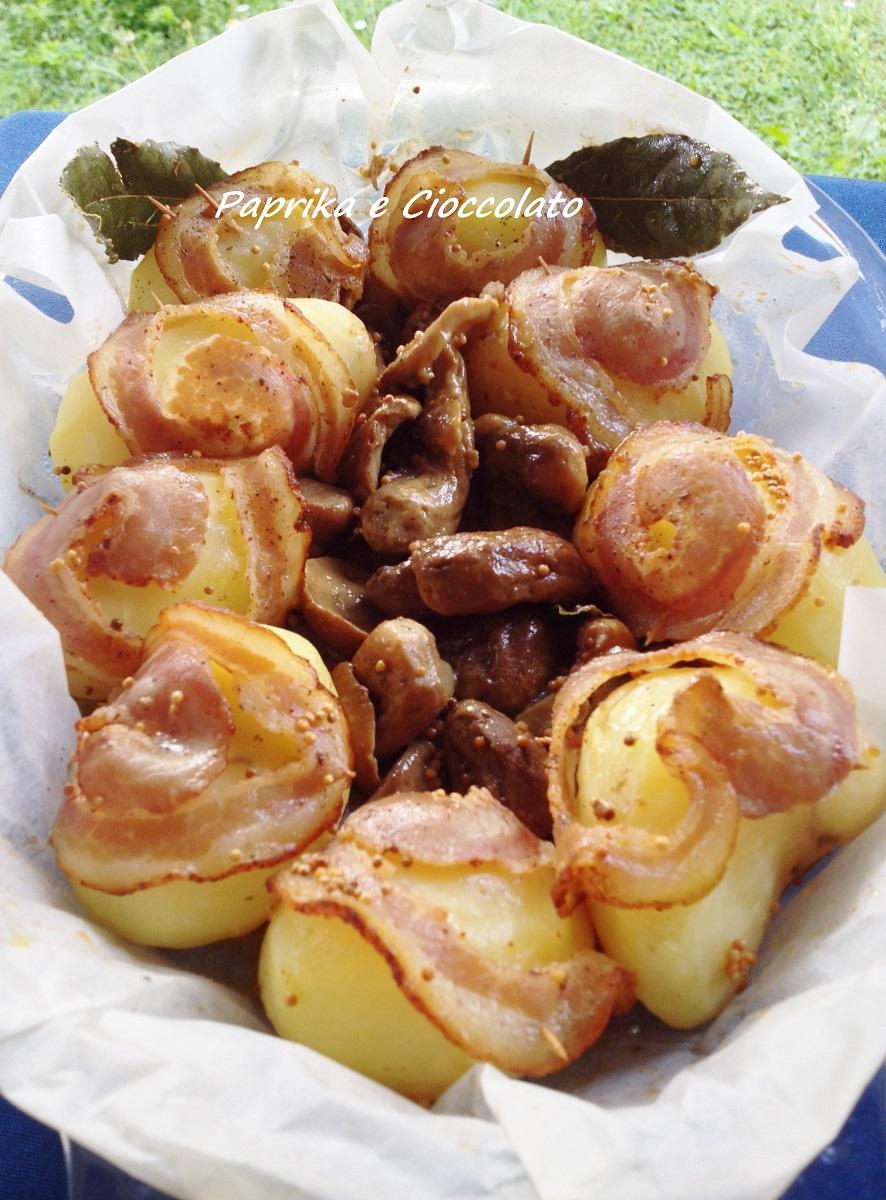 Rotolini di patate e porcini