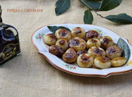 Cipolline glassate all'aceto Balsamico