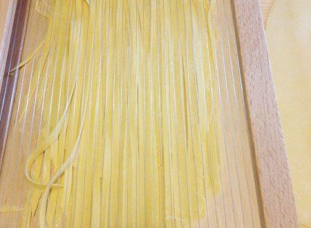 Tagliolini con farina di grano duro