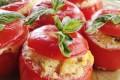Pomodori ripieni con uova strapazzate