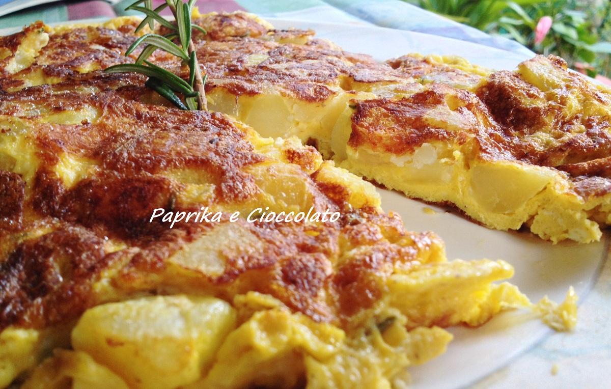 Frittata di Patate e Taleggio