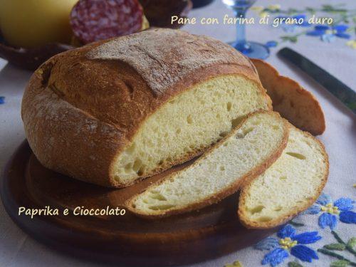 Pane con Farina di Grano Duro