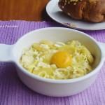 Uova al tegamino con Patate