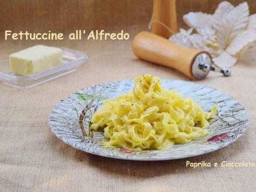 Fettuccine all' Alfredo