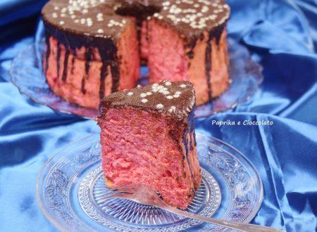 Angel Cake con salsa al Cioccolato