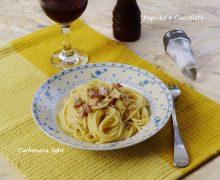 Spaghetti alla Carbonara light