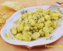 Gnocchi con Ricotta e Pesto