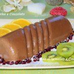 Semifreddo al semolino e cioccolato