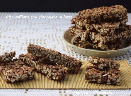 Riso Soffiato con Cioccolato al Latte