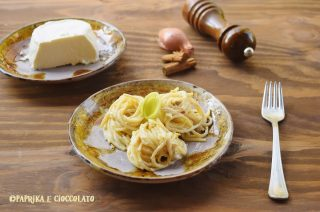 Spaghetti con salsa di Ricotta e Cannella