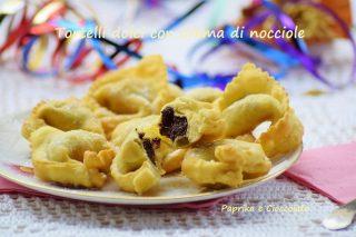Tortelli dolci con Crema di Nocciole
