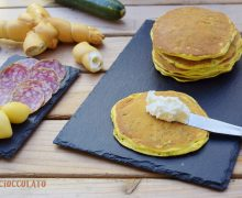 Pancakes di ricotta e Zucchine