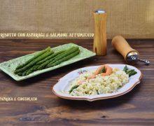 Risotto con Asparagi e Salmone affumicato