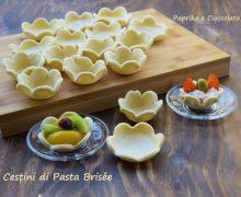 Cestini di Pasta Brisée