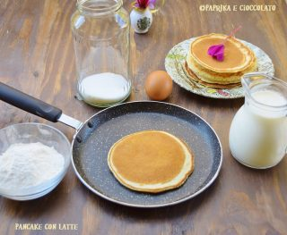 Pancakes con Latte