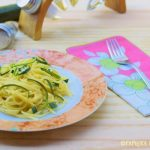 carbonara vegetariana di zucchine