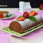 Plum cake al cacao e mandorle