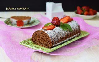 Plum cake al cacao