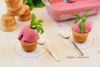 Gelato alle Fragole veloce senza gelatiera