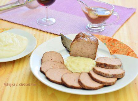 Polpettone al Vino Rosso con Salsiccia