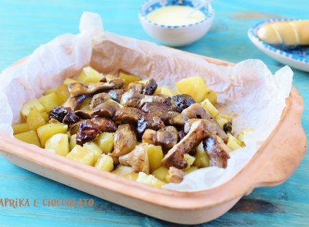Patate e Funghi Porcini al cartoccio