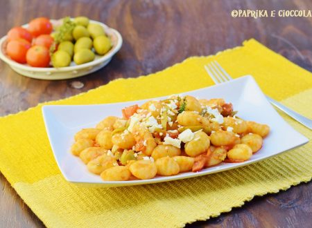 Gnocchi di patate alla mediterranea