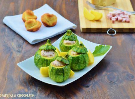 Zucchine ripiene alla Bolognese
